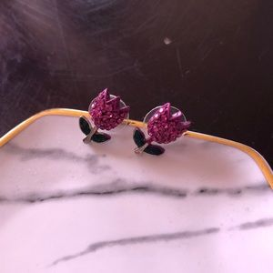 Betsey Johnson Tulip Earrings